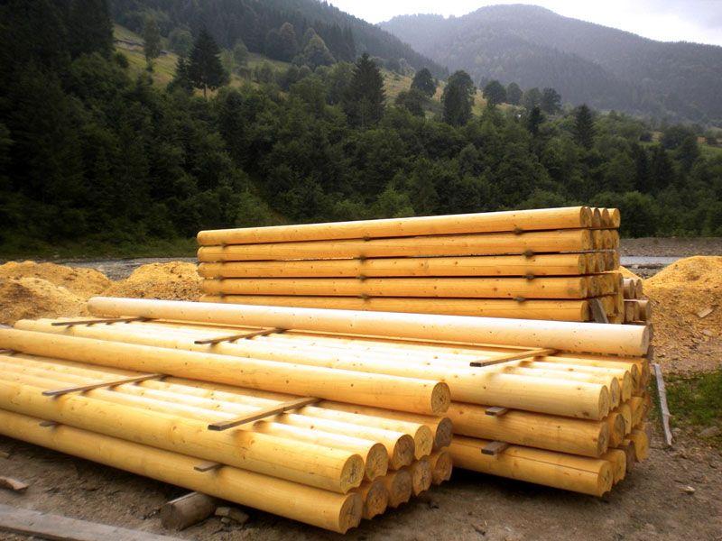 Деревянный сруб для дома