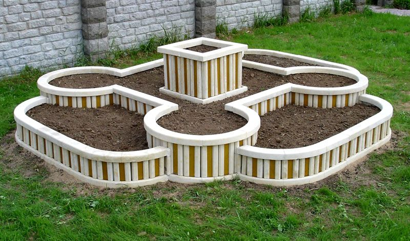 Многоярусная конструкция круглой формы
