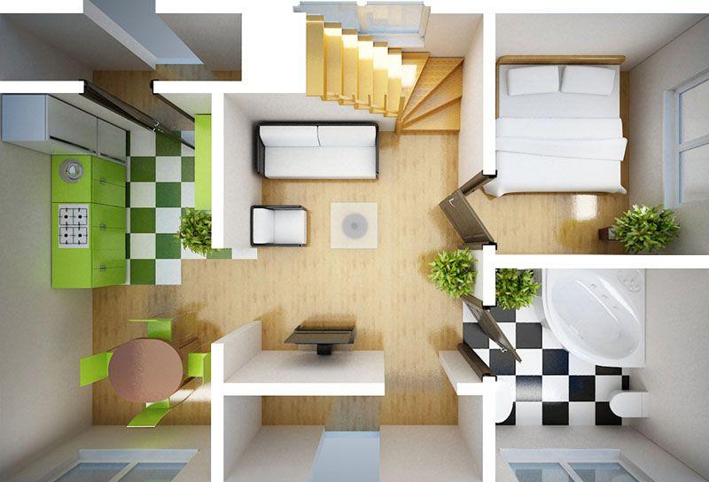 3D распределение комнат