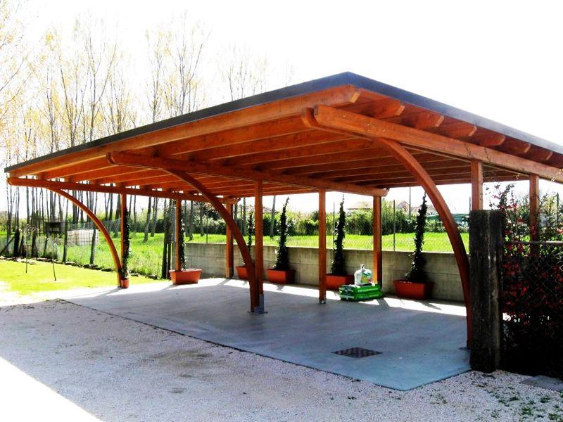 Деревянная постройка консольного типа