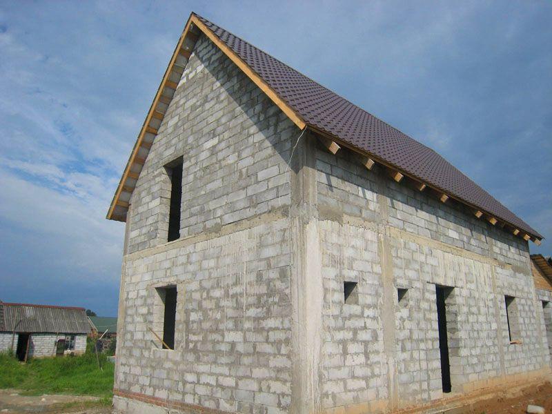 До внешней отделки строения