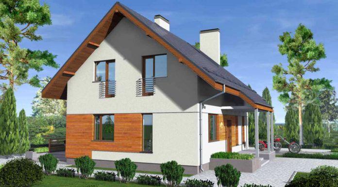 Вариант современного загородного дома