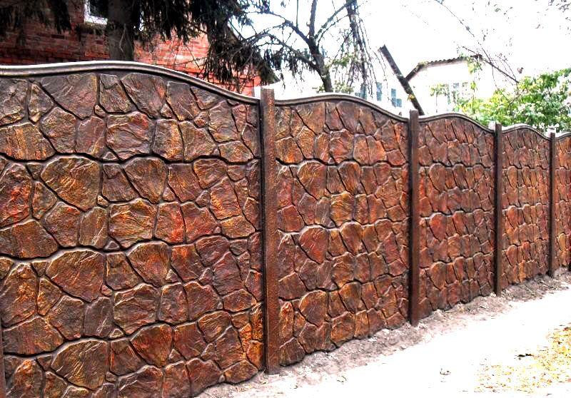 Дизайнерский бетонный вариант