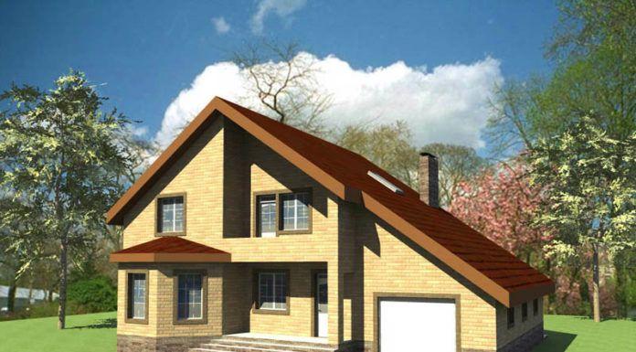 Объединение дома и гаража под одной крышей