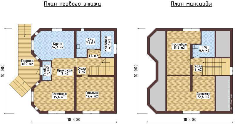 Планировка комнат
