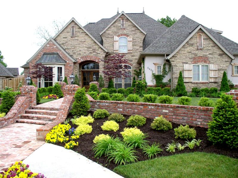 Разграничение жилой зоны и зеленых насаждений