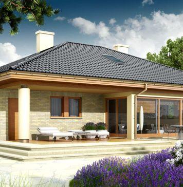 План одноэтажного дома