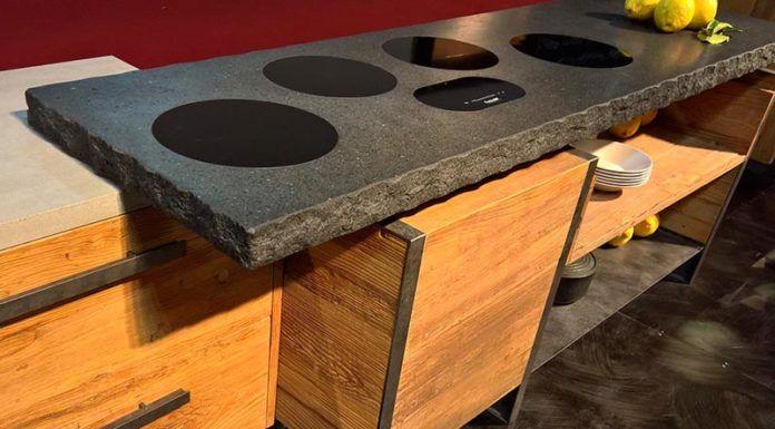 Нагревательные панели, встроенные в плиту из искусственного камня