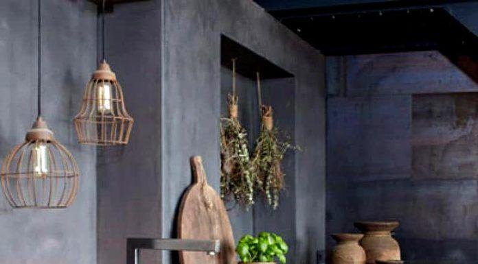 Мебель, созданная из бетона со специальными наполнителями