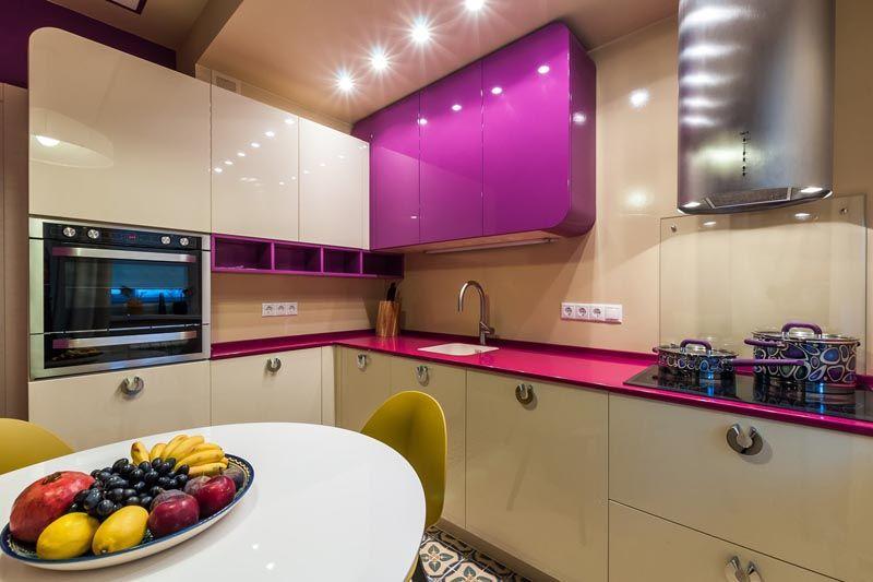 Профессиональный дизайн кухни 7 кв. м