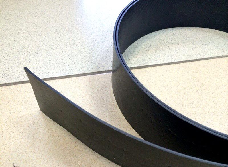Прочная и плотная лента из пластика