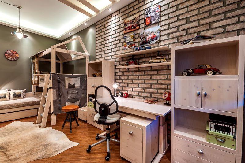 Квартира-студия для семьи с детьми