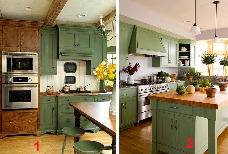 Фото интерьера кухни в стиле прованс