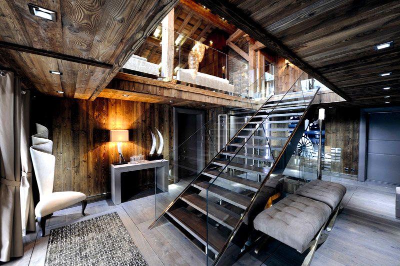 Интерьер небольшого двухэтажного дома