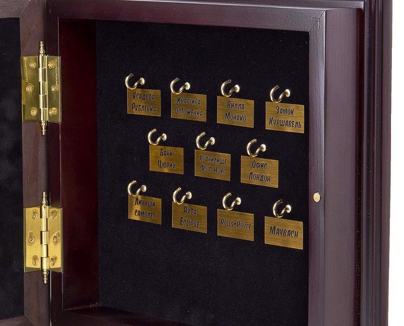 Закрытые ключницы настенные для дома можно размещать в непосредственно близости от входа