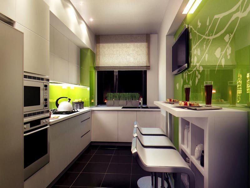 Дизайн кухни для квартир 2017 современные идеи