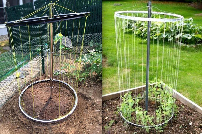 Удобные грядки для выращивания огурцов
