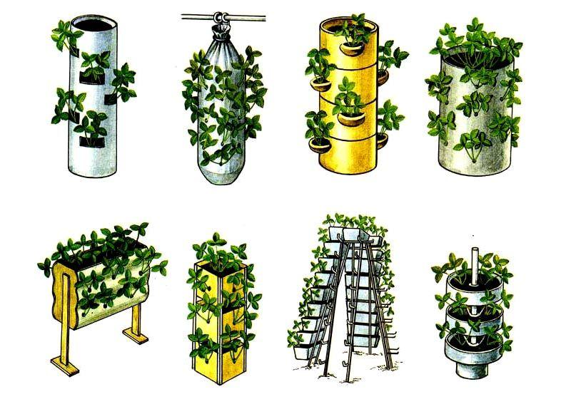 Схемы вертикальных конструкций