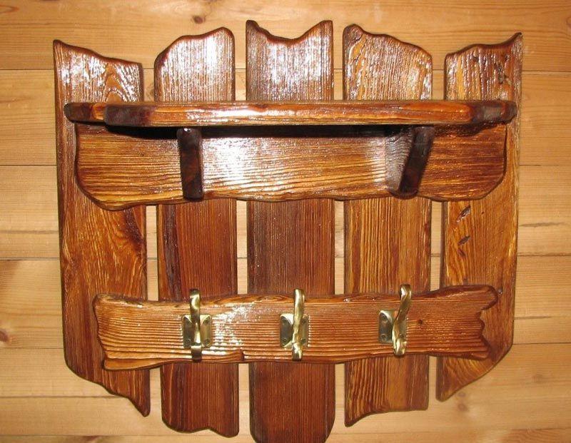 Вешалки деревянные своими руками фото