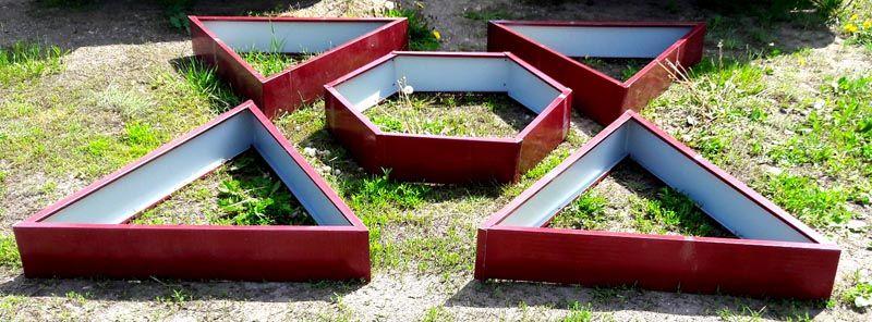 Практичная и декоративная треугольная форма