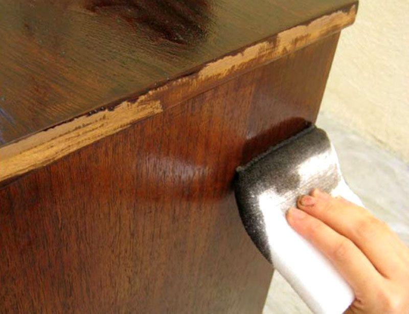 Использование краски для реставрационных работ