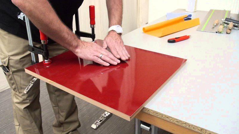 С помощью подобной обработки можно создать современные предметы мебели
