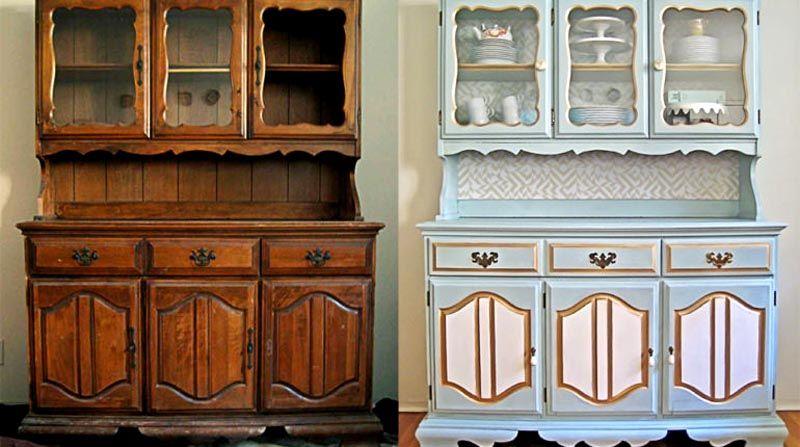 С помощью декора можно сделать из старой мебели вариант в стиле прованс