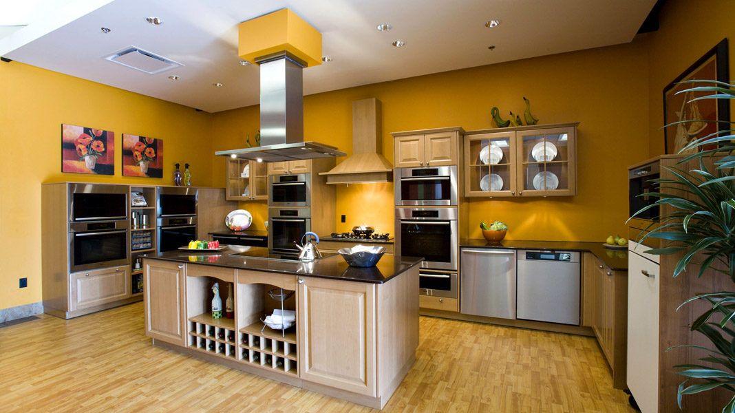 Интерьер кухни: фото 2017, современные идеи