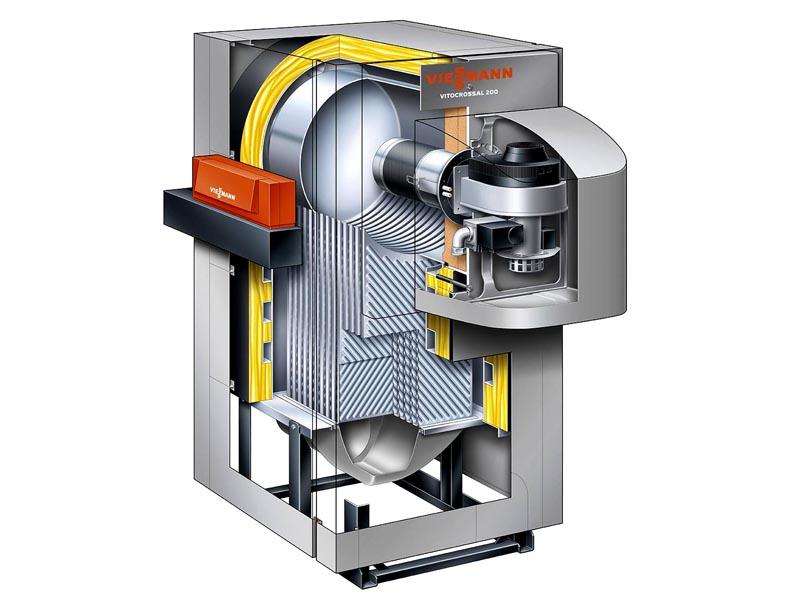 Устройство конденсационного оборудования