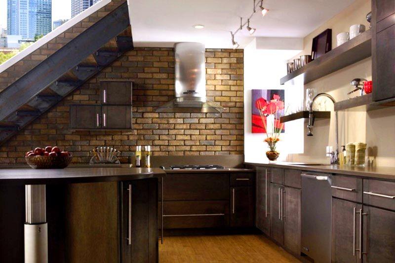 Кухни с клинкерной плиткой дизайн