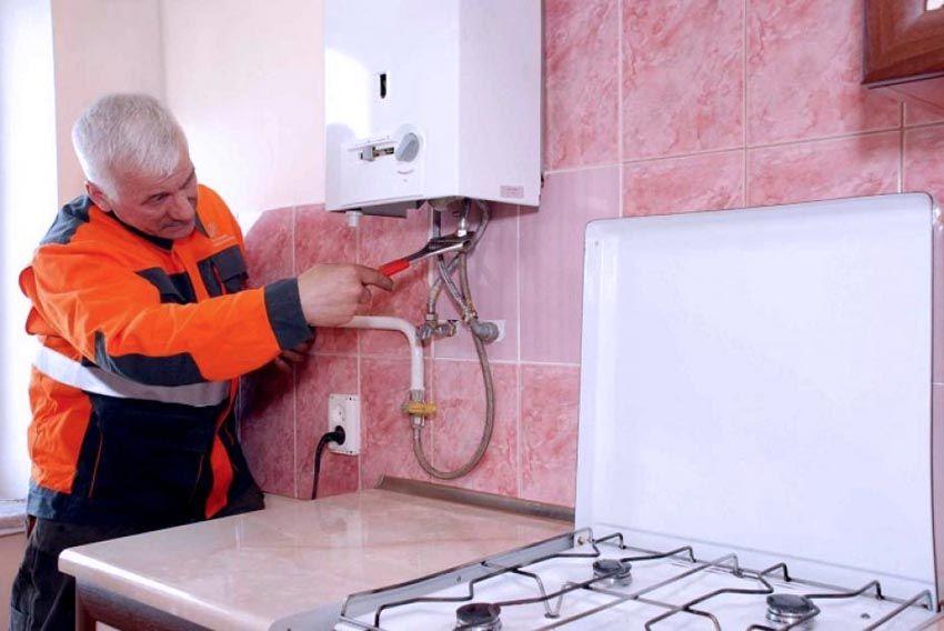 Регулировка газового агрегата