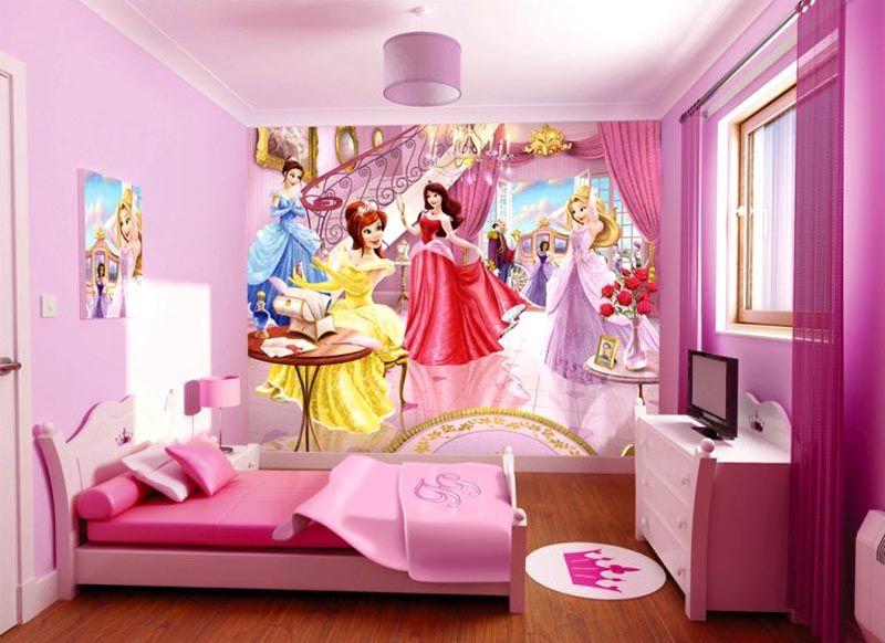 Детские фотообои с принцессами