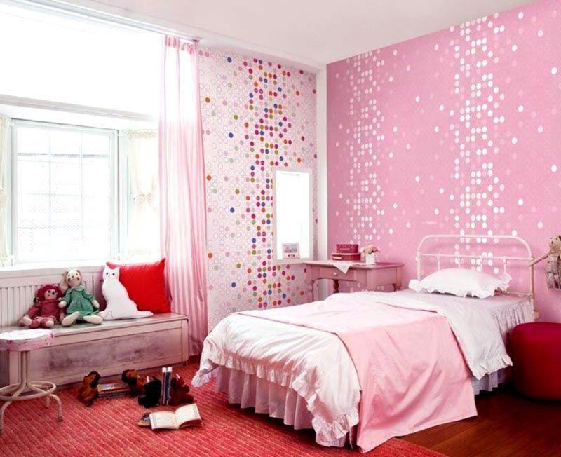 Декор в розовых оттенках
