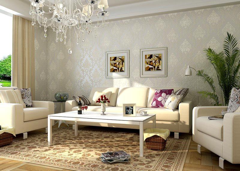 Светлые полотна станут настоящим украшением, как просторной, так и малогабаритной комнаты