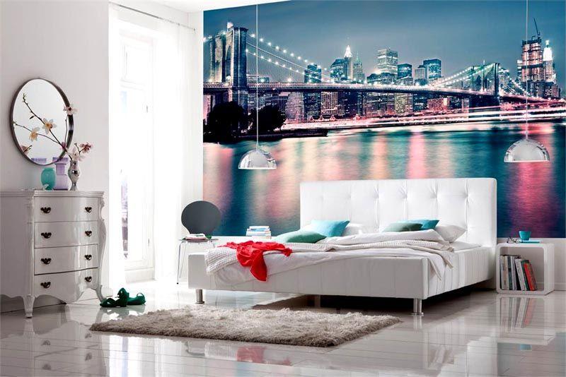 Городской ландшафт для спальни
