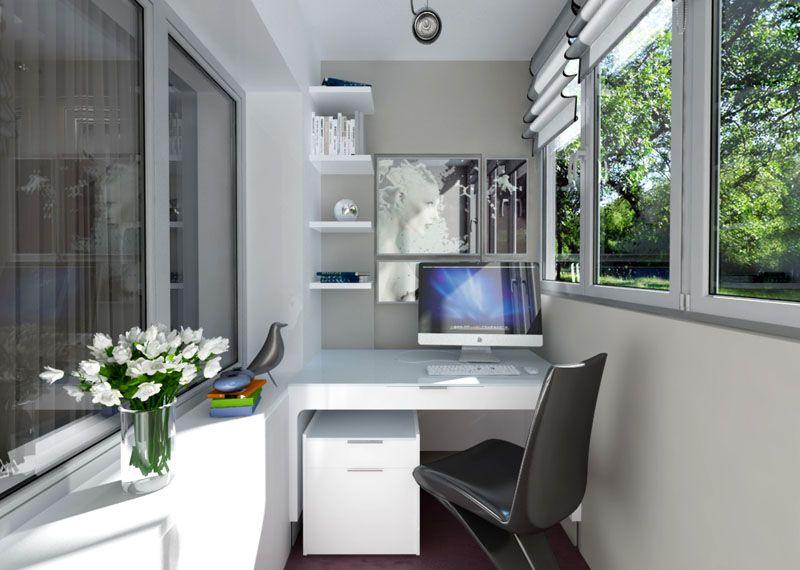Дизайн кабинета, кроме стола, может дополняться другими функциональными предметами