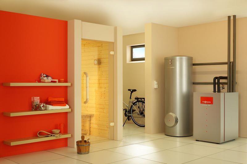 Установить агрегат можно и в подвальном помещении