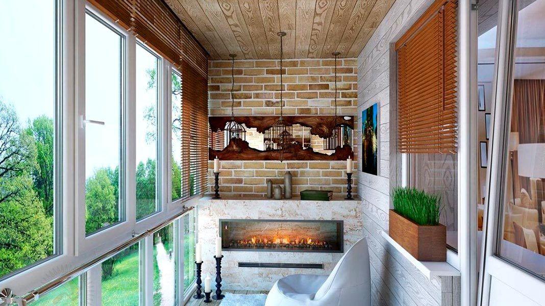 Идеи балкона внутри фото
