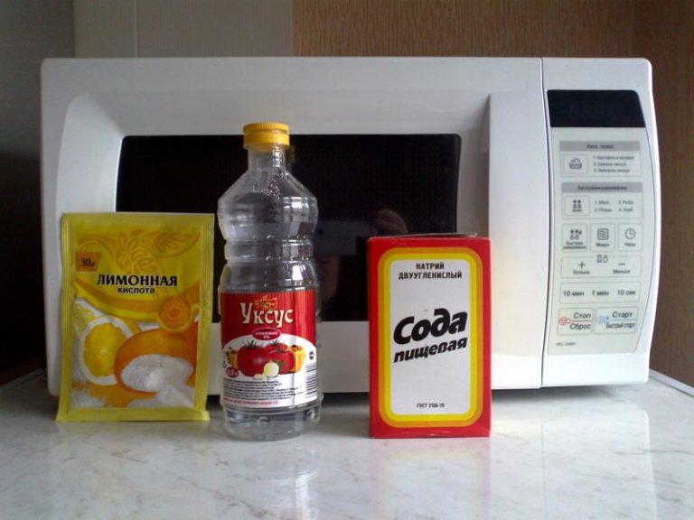 Как почистить микроволновку в домашних условиях и чем 85