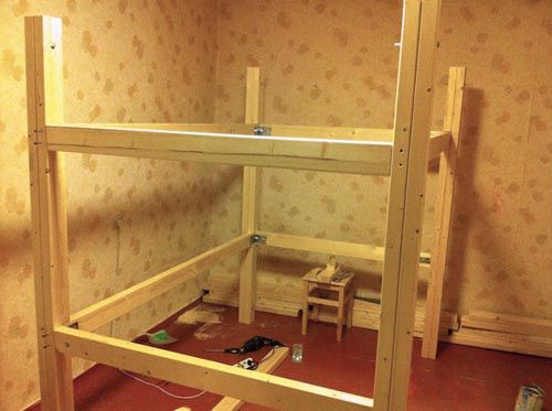 Чердак-кровать для взрослых и детей - создаем свой уникальный уголок