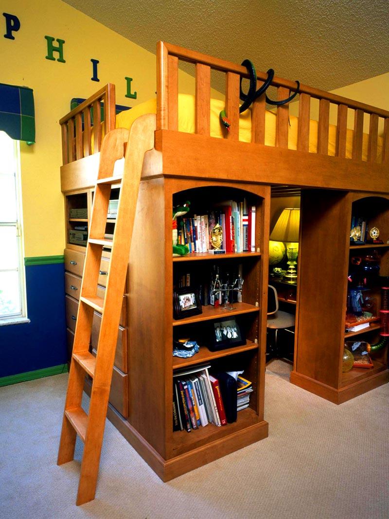 Шкафы позволят разместить много вещей