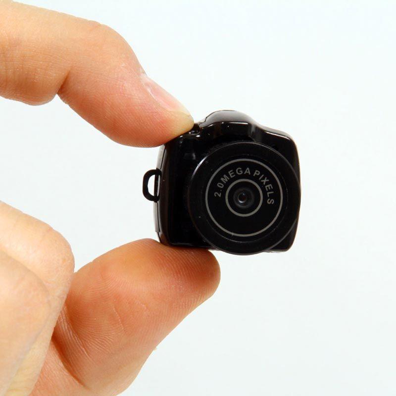 Скрытая шпионская мини видеокамера
