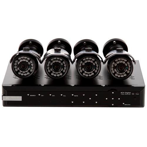 Готовые комплекты видеонаблюдения для частного дома: виды, обзор производителей