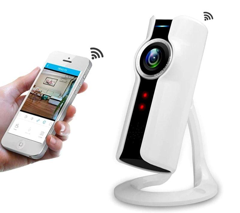 Скрытая камера для дома с дистанционным управлением при помощи смартфона
