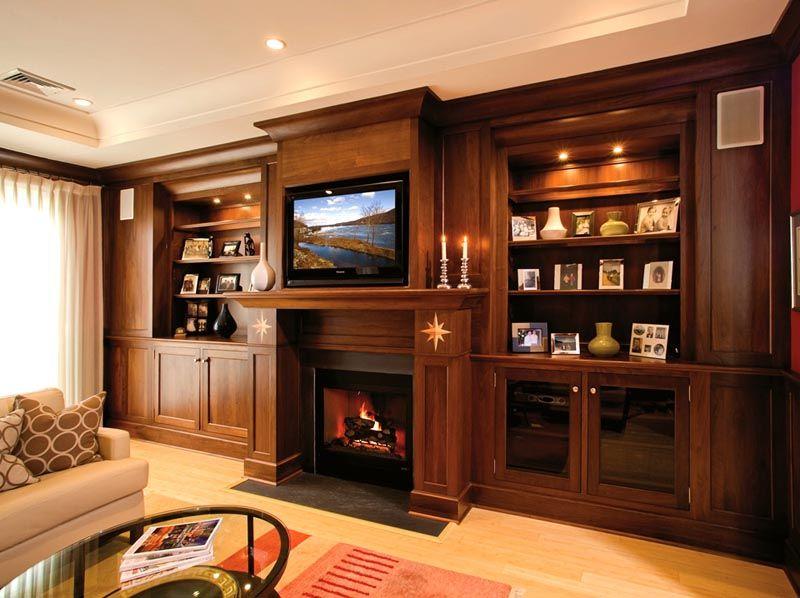Современная телевизор в интерьере