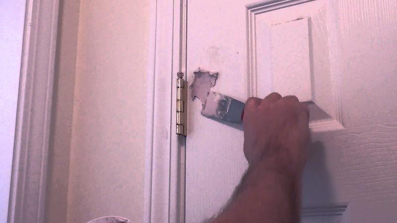 Ремонт двери – сложное и кропотливое занятие