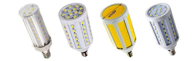 Варианты светодиодных ламп