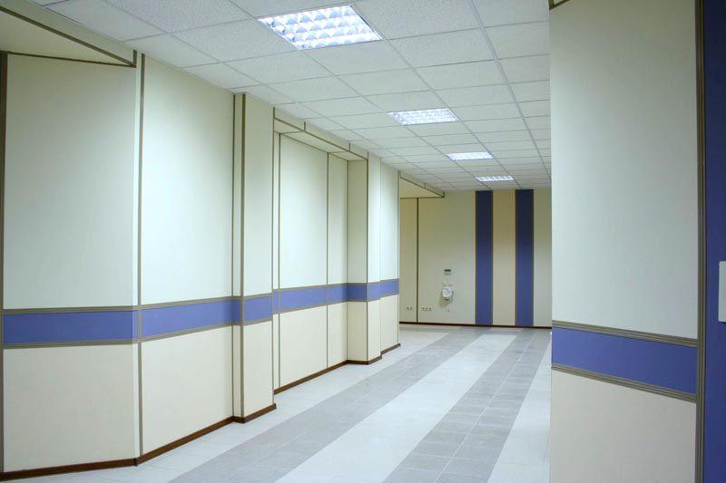 Покрытия из гипсовинила часто используются для общественных учреждений