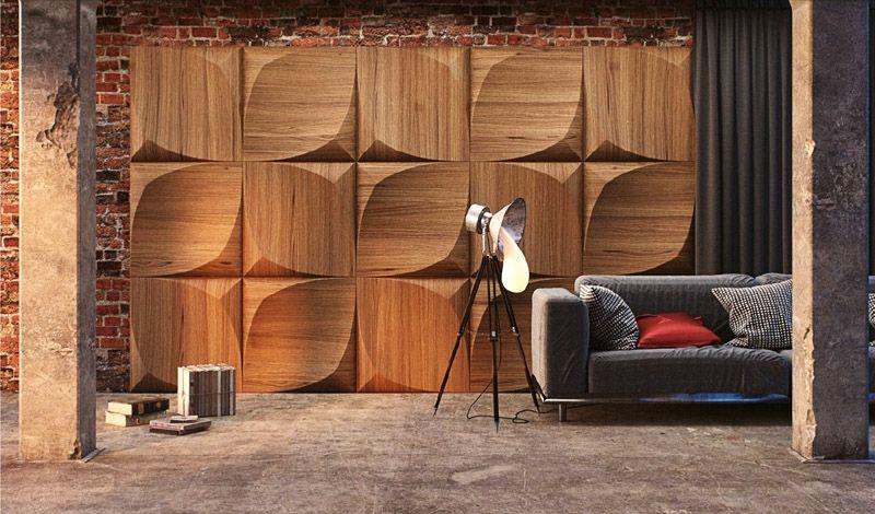 С помощью разнообразной фактуры древесины создаются неповторимые дизайны