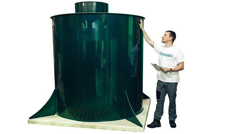 Конструкция цилиндрической формы